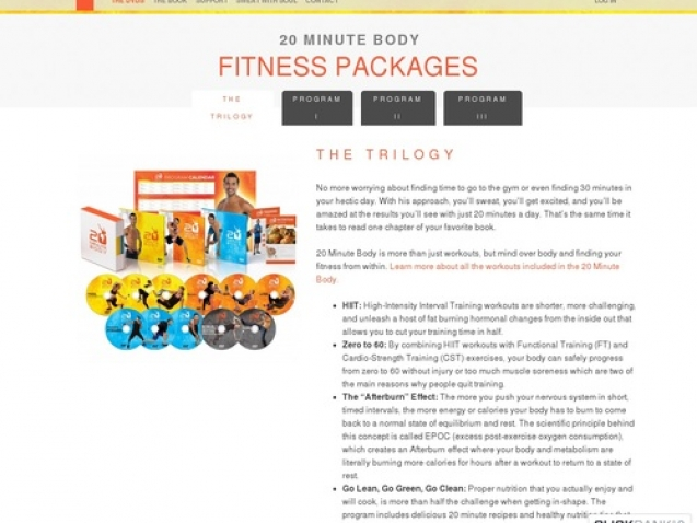 The 20 Minute Body