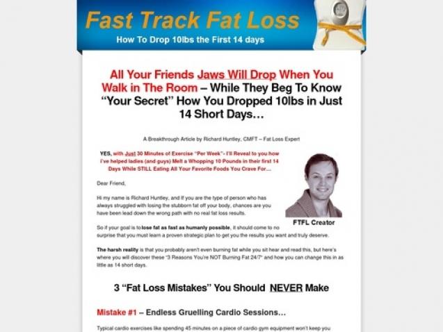 Fast Track Fat Loss