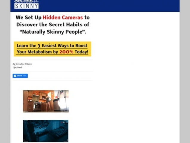 Secrets Of The Skinny – Hot New 5 Step Sales Letter!