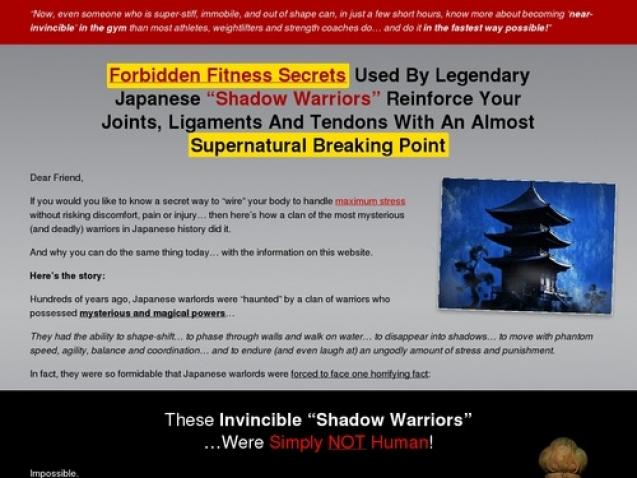 Forbidden Fitness Secrets Of A Modern Day Ninja Warrior