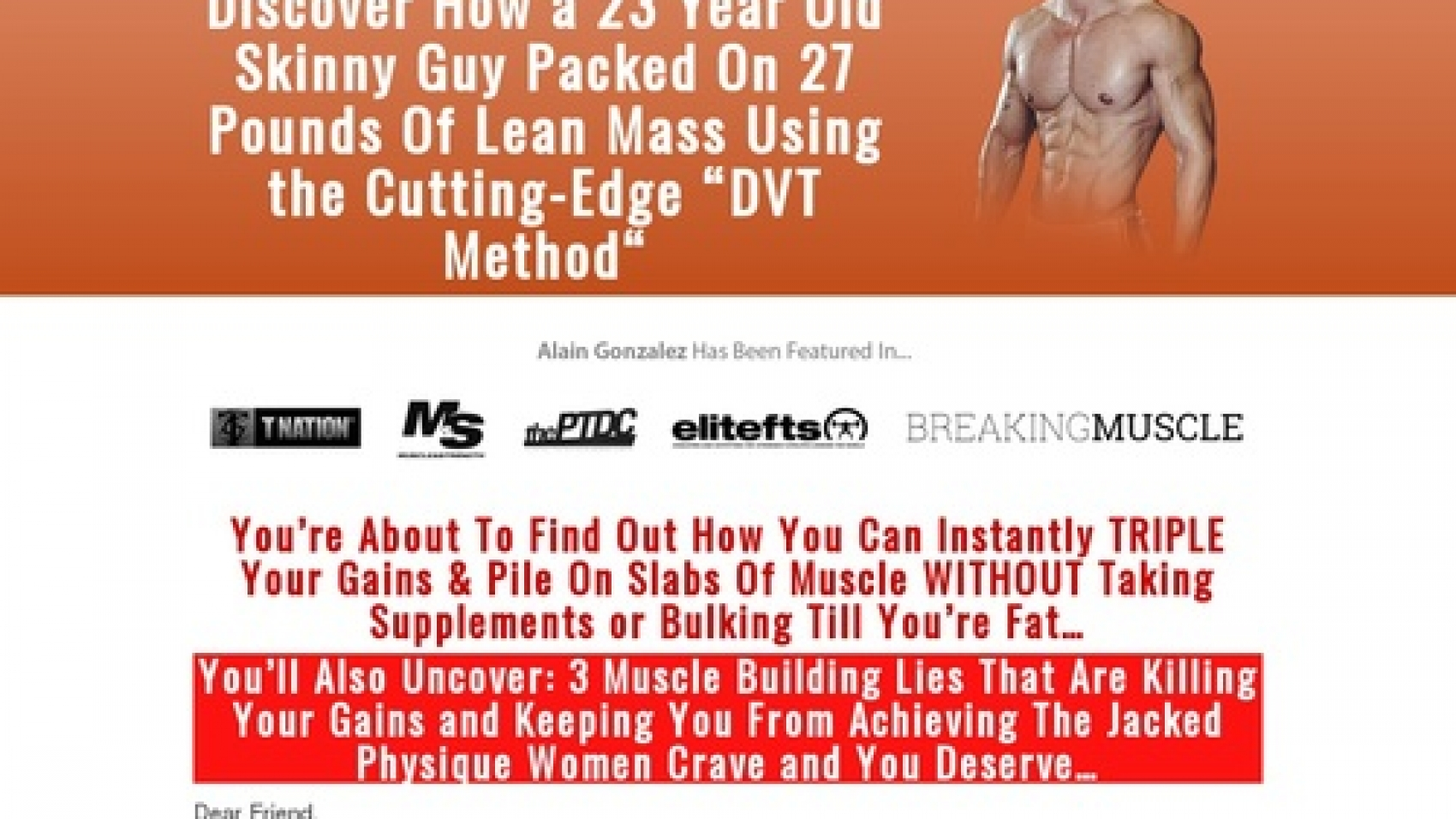 Physique Zero – The Ultimate Bodyweight Workout For Building Muscle!