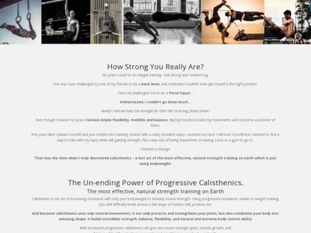 Build Insane Strength And Mad Skills With Progressive Calisthenics