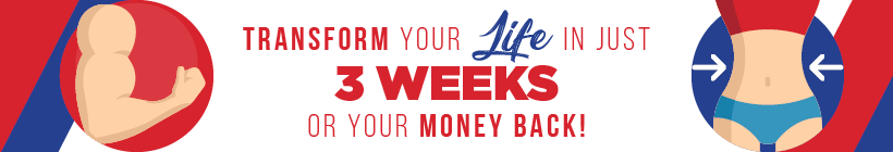 Transform your life in just 3 week